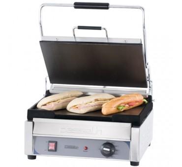 Grill de contact simple a panini ou sandwich chaud - Grill electrique professionnel ...