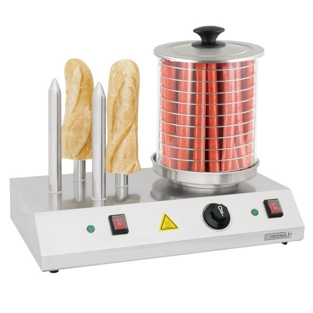 Chauffe saucisses lectrique casselin 4 plots for Appareils cuisine professionnels