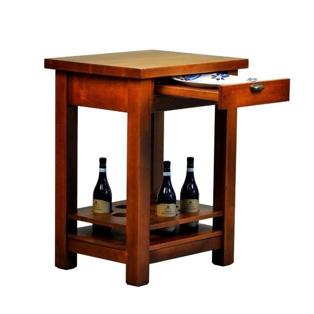 Table Vintage en bois massif Noaw