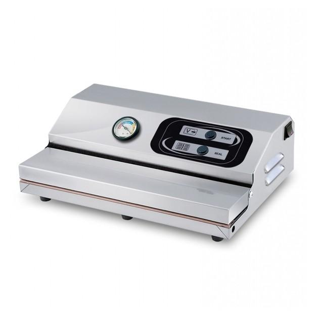 Machine sous vide mini mini 350 avec manom tre lavezzini for Cuisine exterieure professionnelle