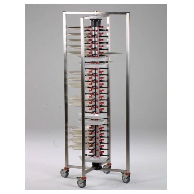 Echelle Porte Assiette Plate Mate A Tetons Reglables Et Repliable 84 Plats