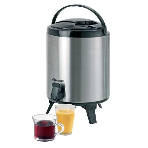 distributeur d 39 eau chaude 9 litres bartscher avec robinet de service. Black Bedroom Furniture Sets. Home Design Ideas