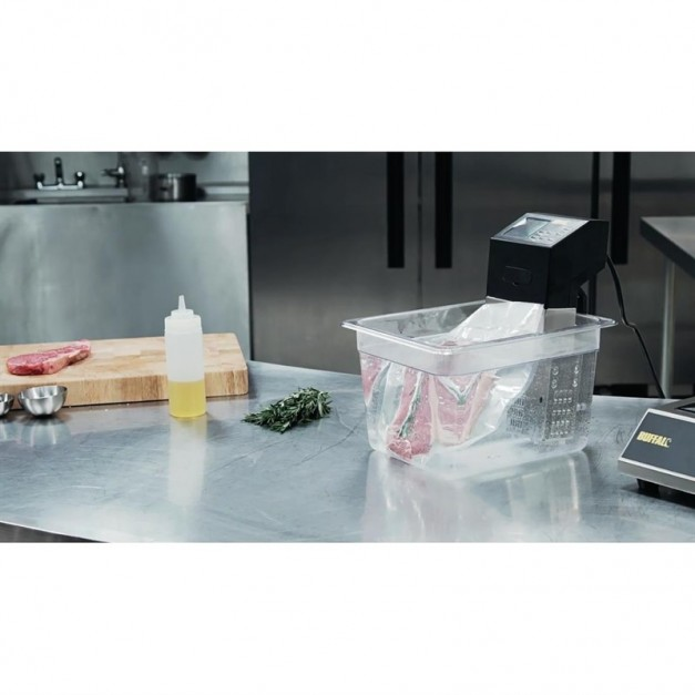 Thermoplongeur cuisson sous vide portable buffalo for Thermoplongeur cuisine