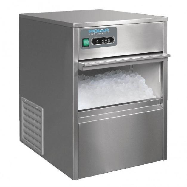 machine a gla ons 20 kg polar de comptoir pour la restauration