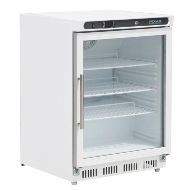 vitrine de comptoir r frig r e 150 litres blanche polar r frig ration. Black Bedroom Furniture Sets. Home Design Ideas