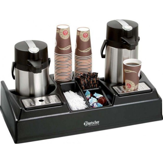 Double pr sentoir caf machine a caf percolateur - Thermos a cafe ...