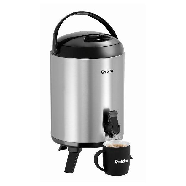thermos distributeur d 39 eau chaude 9 litres bartscher avec robinet de service. Black Bedroom Furniture Sets. Home Design Ideas