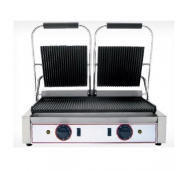 Grill de contact panini professionnel doubles BEC