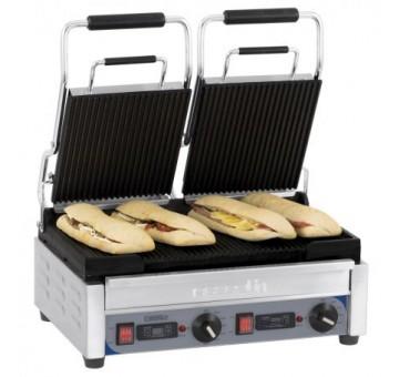 grill de contact double pour panini et sandwich chaud. Black Bedroom Furniture Sets. Home Design Ideas