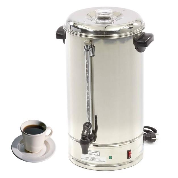 percolateur a caf professionnel 10 litres 70 80 tasses. Black Bedroom Furniture Sets. Home Design Ideas
