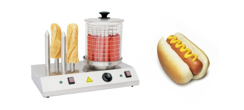 Appareil a hot-dogs professionnel