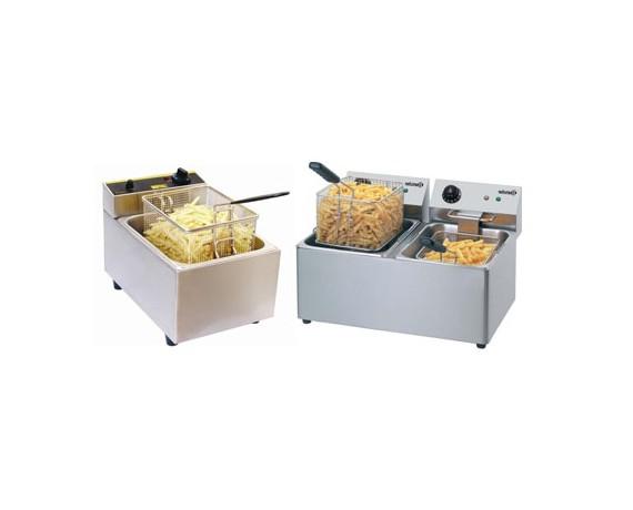 Friteuse électrique professionnelle pour la restauration