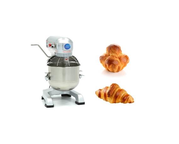 Batteurs mélangeurs mixeurs professionnels 20 litres pour la boulangerie et patisserie.