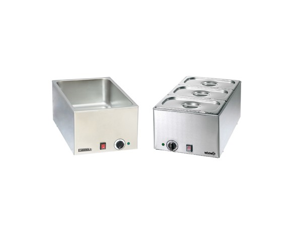 Bains-marie électriques conformes normes standard GN