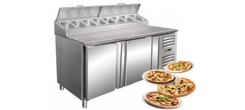 Table à Pizza réfrigérée-cuisine des pros