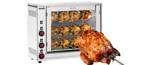 Rôtissoire électrique ou gaz-Cuisine des pros
