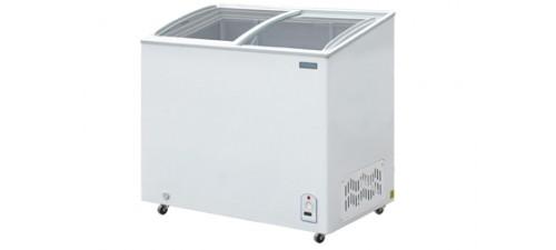 congelateur coffre a portes coulissantes