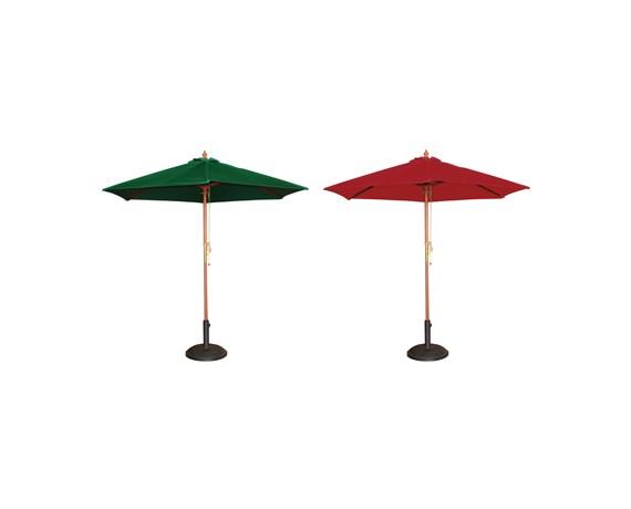 Parasols de terrasse de bars et restaurants