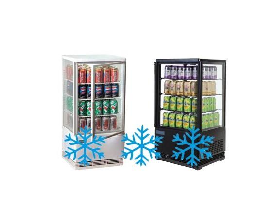 Vitrines réfrigérées pour boissons fraiches et sandwich